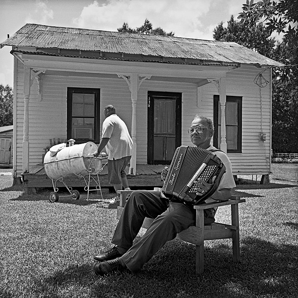 Hiram Sampy at Home, Scott, LA