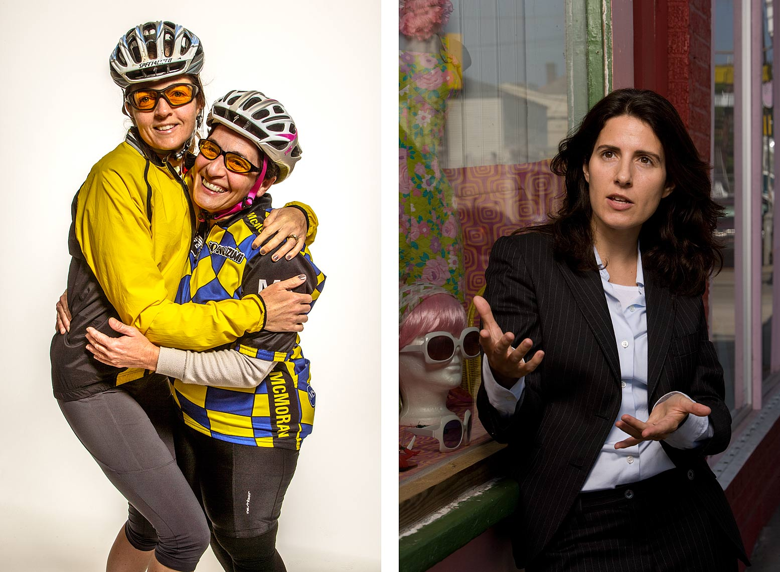 Portraits of Business Women in Sports and Academia